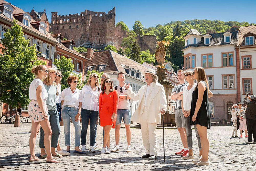 Stadtführung in Heidelberg